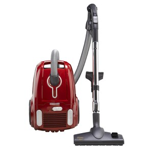 Home, Maid, Straight, Suction, Canister, Vacuum, soft, bristles, rubber, wheels, tile, wood, linoleum