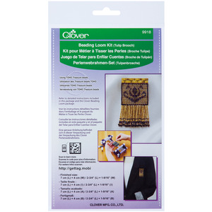 Clover 9918 Beading Loom Kit Tulip Brooch