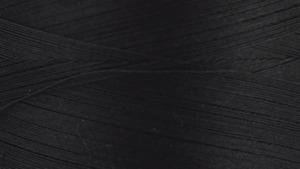45714: Gutermann 3000-5201 Natural Cotton Thread 30wt Solids 300m, 3281 Yards Black