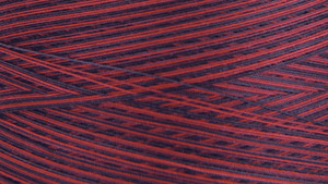 45727: Gutermann 3000V-9959 Natural Cotton Thread 30wt Variegated 3,281 Yards Berry Berry
