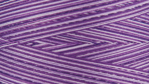 Gutermann Natural Cotton Thread Variegated 3,281 Yards Purple Passion