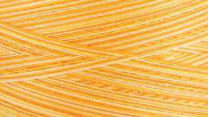 Gutermann Natural Cotton Thread Variegated 3,281 Yards Sunrise Sunset Yellow