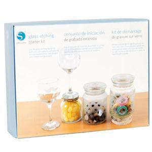 Silhouette, Cameo, KIT, GLASS, Etching, Starter, Kit, How, DVD, Book