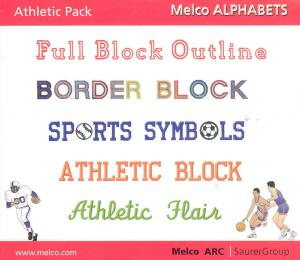 Melco edsIII-IV Alphabets Athletic Pack 16623