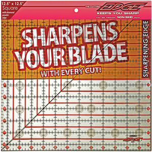 "Sullivans The Cutting EDGE Clear Ruler 12-1/2""X12-1/2"""