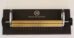 "6254: Read 24 Row Super Maxi Smocking Pleater Machine, 9"" Wide, 47 Needles DVD"