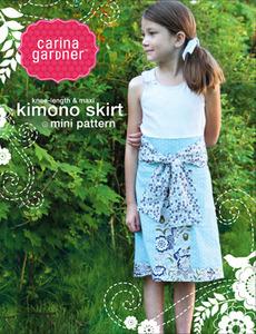 Carina Gardner Kimono Skirt Pattern