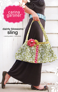 Carina Gardner Dainty Blossoms Sling Bag Sewing Pattern