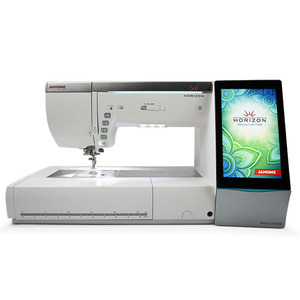 47231: Janome MC15000 Demo Horizon Sewing Embroidery Quilting Machine 9mm, v2.0 +iPad Mini