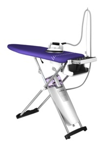 47238: LauraStar LS Pulse Steam Iron +Vacuum Ironing Board, 3D Soleplate, Auto Off