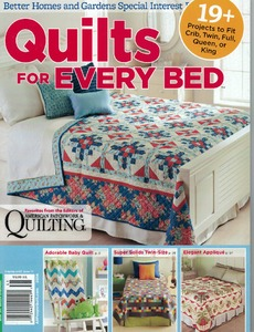 Better Homes Quilts For Every Bed Book, 19+ Projects Crib Twin Full Queen King