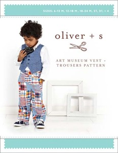 Oliver + S : Art Museum Vest & Trousers 6m-4