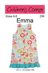 Children's Corner CC256 Emma Sewing Pattern Size 6-8