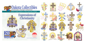 Dakota Collectibles 970418 Christianity Multi-Formatted CD Embroidery Machine Designs