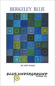 Blue Underground Studios, Inc.  Berkeley Blue Quilt Pattern