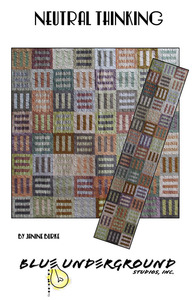 Blue Underground 93-0412 Neutral Thinking Pattern Runner Wall Hanging*