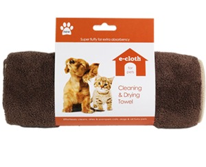 51592: e-cloth TD-70603 Cleaning & Drying Towel 39in x 20in, Ideal dogs, cats