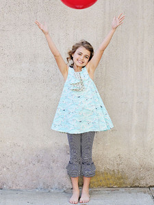 Violette Field VF19 Lilly Belle Reverse Pinafore Dress Pattern Sz 2-10