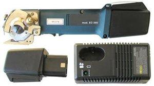 "Superior EC-360 2.25"" 60mm Blade Cordless HD Rotary Fabric and Rug Shear Cutter Machine EC360 (Kingbow EC-60 EC60)"