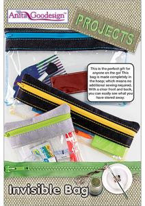 Anita Goodesign PROJ66 Invisible Bag Multi-format Embroidery Design CD
