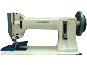 "TechSew 180 16"" Longarm Flatbed Walking Foot Very Heavy Duty Sewing Machine, Servo Motor, Stand, 7/8"" Presser Foot Lift, 3/4"" Sewing Capacity"