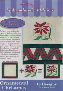 Anita Goodesign 174MAGHD Ornamental Christmas Embroidered Additions CD