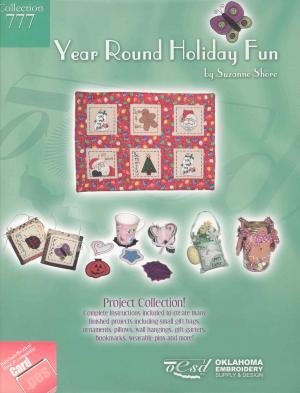 OESD 777 Year Round Holiday Fun Embroidery Card