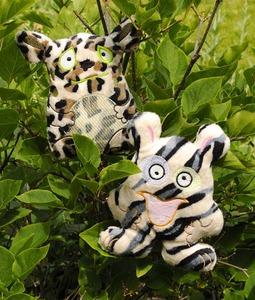 Minkee Monsters Unleashed Fabric Kit