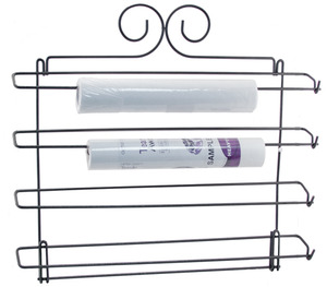 """Hammer Brothers STABRACSNF Wall Hanging up to 10"""" Wide Stabilizer 8 Roll Rack 16""""x21"""" for Wall Mount Only"""