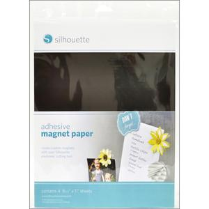 Silhouette Cameo Magnet Paper Adhesive