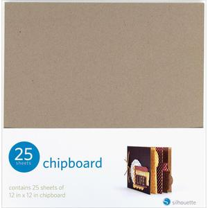 Silhouette Cameo Chipboard Sheets 25 pack