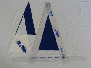"""Quint Measuring Systems W30"""" Wedge-It Tool, Up To 60"""" Circles, 60 Angles 5 Minutes"""
