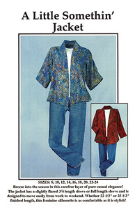 CNT Pattern Company 93-4104 A Little Somethin Jacket Pattern Karen Bye