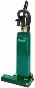 "Bissell BigGreen Commercial BGUPRO14T 14"" Wide 2 Motor Heavy Duty L Upright Vacuum Cleaner"