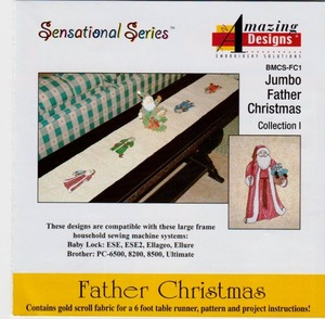 Amazing Designs Father Christmas Collection FC1