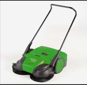 "Bissell  BG677 31"" Battery Powered Triple Brush Push Power Sweeper"