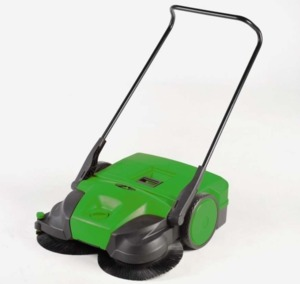 "Bissell  BG697 38"" Battery Powered Triple Brush Push Power Sweeper"