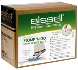 Bissell  77D1 Stomp 'N Go Stain Lifting Pads 20 pk