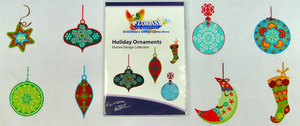 Floriani S-9691 Holiday Ornaments - Signature Series Embroidery Design Collection