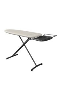 "LauraStar Comfort Ironing Board 45x15"" +Hot Iron Rest, Lift Steam Irons"