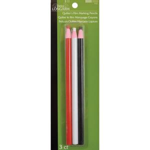 Dritz Long Arm DL3723 Quilter's Film Marking Pencils Pack of 3