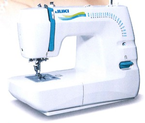 55266: Juki HZL-353ZR-C 21-Stitch Mechanical Sew Quilt Machine, 1Step BH, Case