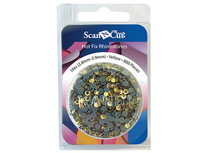 Brother CARS10Y 800 Yellow Rhinestones 10SS Refill ScanNCut CM650 550 250 100