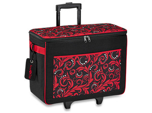 "55334: Brother CATOTER ScanNCut Trolley Tote Bag Travel Carry Case 21x11x18"" Red"