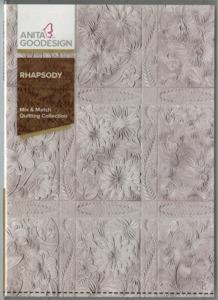 Anita Goodesign Rhapsody Mix & Match Quilting Collection Emb CD