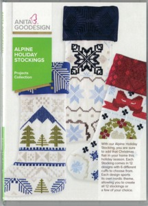 55644: Anita Goodesign PROJ74 Alpine Holiday Stockings Projects Collections Multi-format Embroidery Design CD