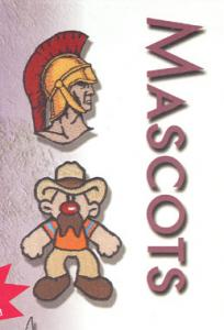 OESD The Best of: Mascots Embroidery CD