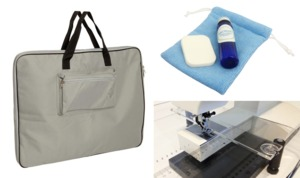 Sew Steady SSAP-WISH Accessory Package: Bag, Polish Kit, Sew Straight Guide