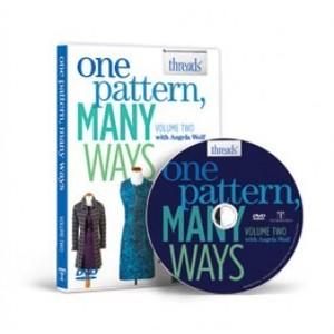 Angela Wolf TM200 One Pattern, Many Ways Vol 2. Sewing DVD