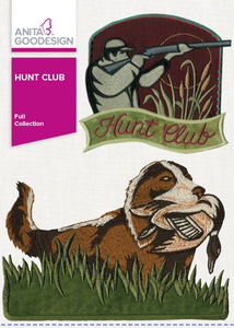 Anita Goodesign 268AGHD Hunt Club Full Collection Multi-format Embroidery Design CD